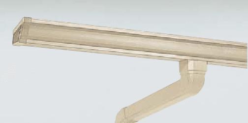 雨樋交換モダンベージュ|取手・守谷・土浦でリフォームなら幸和建築工房