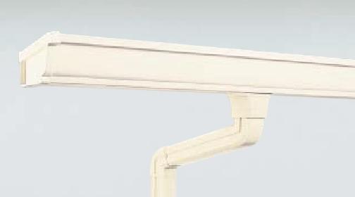 雨樋交換ミルクホワイト|取手・守谷・土浦でリフォームなら幸和建築工房