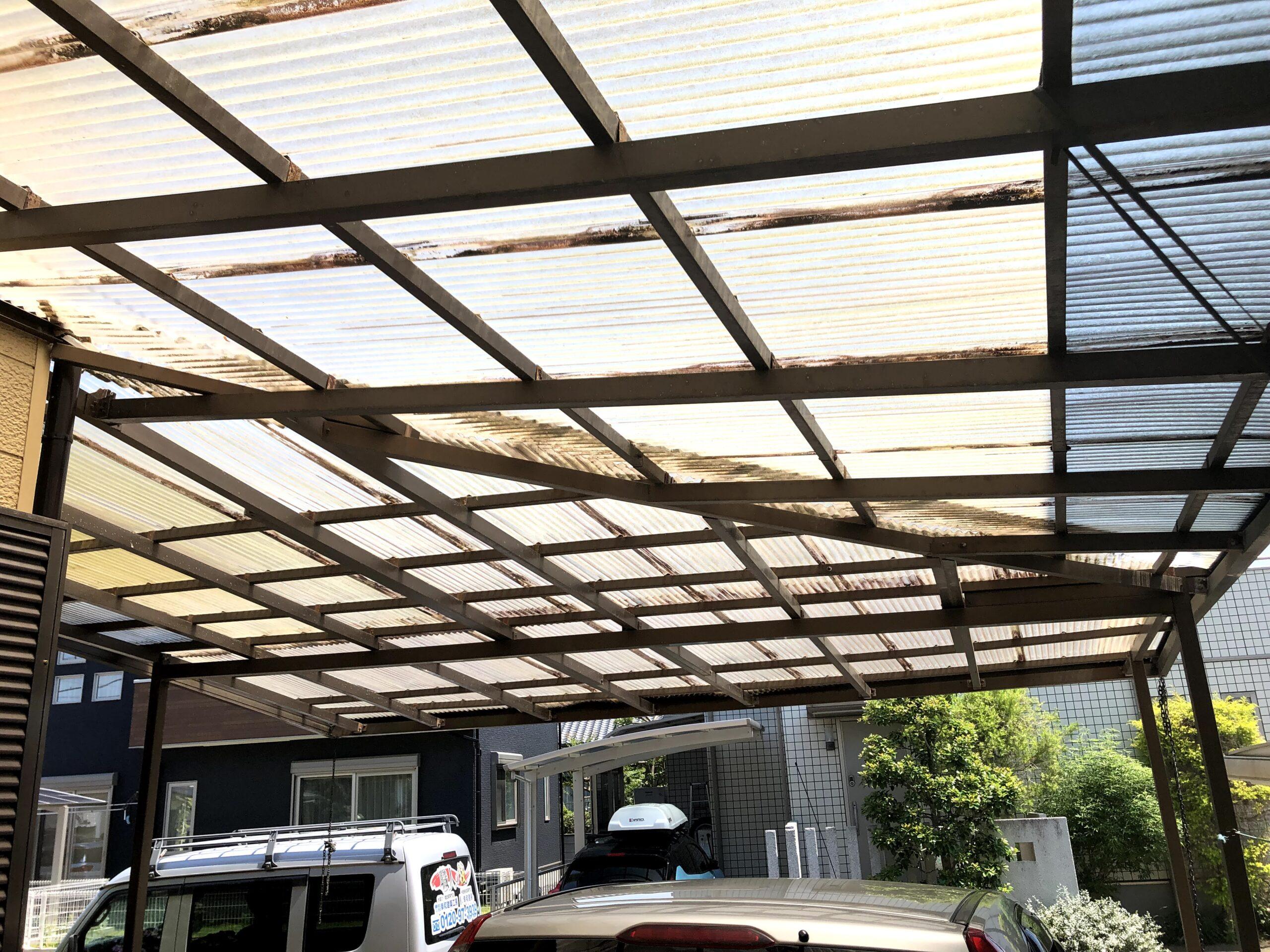 阿見町 M様邸 カーポート屋根工事page-visual 阿見町 M様邸 カーポート屋根工事ビジュアル